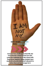 I am not defined by…